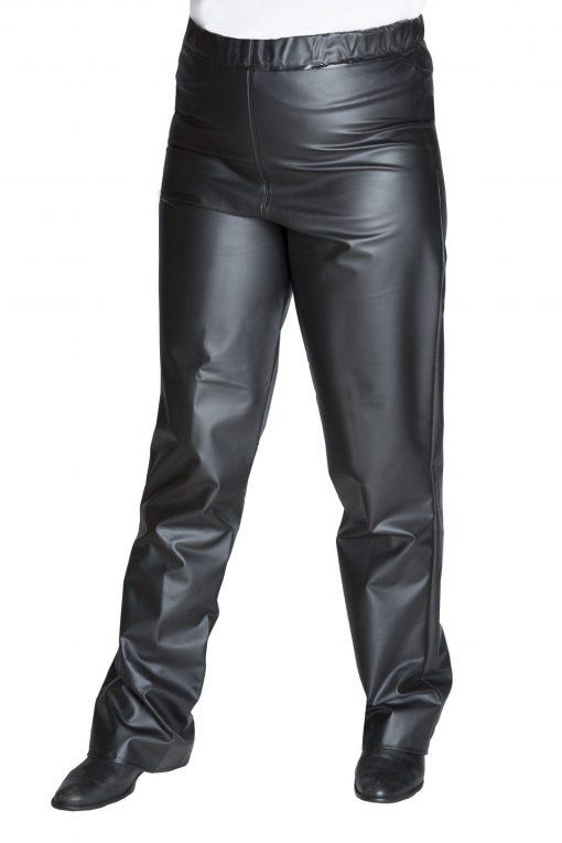 calça impermeável feminina preta europa