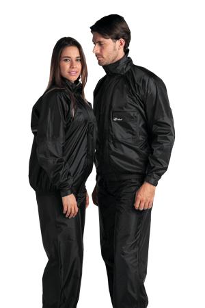 capa de chuva impermeável unissex alba moto