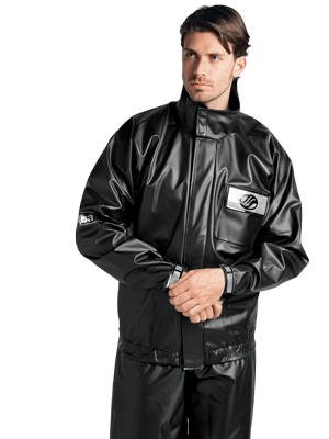 jaqueta impermeável masculina alba moto