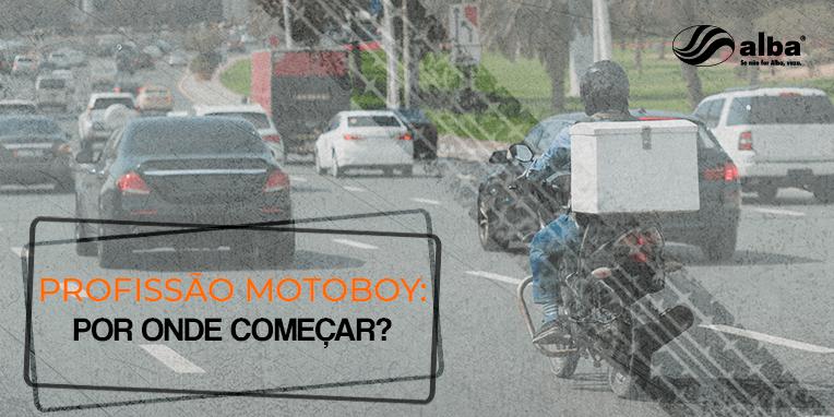 profissão motoboy, Profissão Motoboy: por onde começar?, Alba Moto