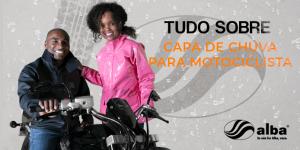Tudo sobre capa de chuva para motociclista