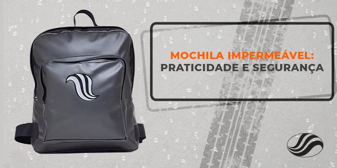 mochila impermeável, Mochila impermeável: praticidade e segurança, Alba Moto