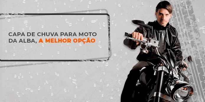 capa de chuva para moto, Capa de chuva para motociclista da alba, a melhor opção, Alba Moto