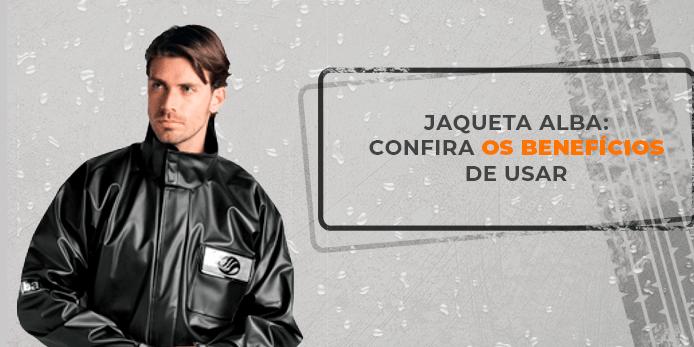 Jaqueta de motoqueiro - Alba Motos