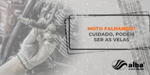 sabia que as velas da moto podem fazer com que a mesma perca potência? Confira nossas dicas!