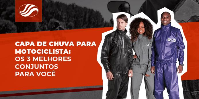 Capa de chuva para motociclista os 3 melhores conjuntos para você