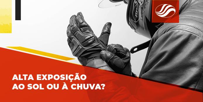 luva para motociclistas, Luva para motociclistas Quatto: a solução para a alta exposição à chuva e ao sol, Alba Moto