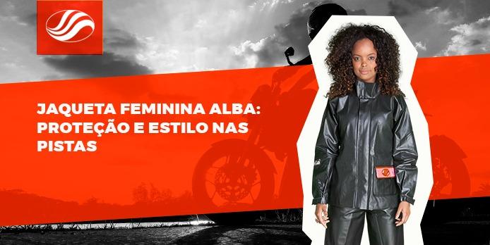 Jaqueta feminina Alba Moto