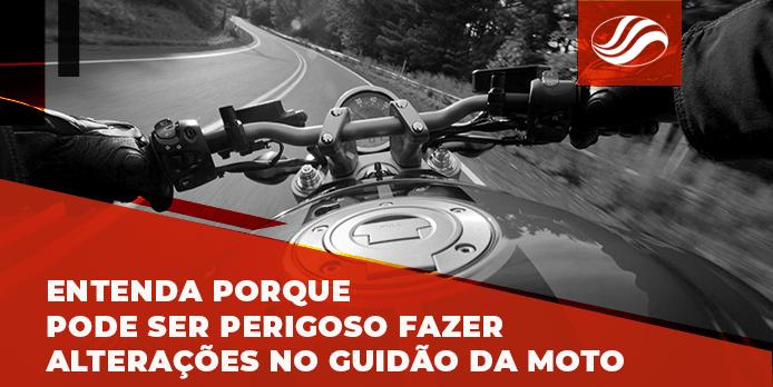 guidão da moto, Entenda porque pode ser perigoso fazer alterações no guidão da moto, Alba Moto