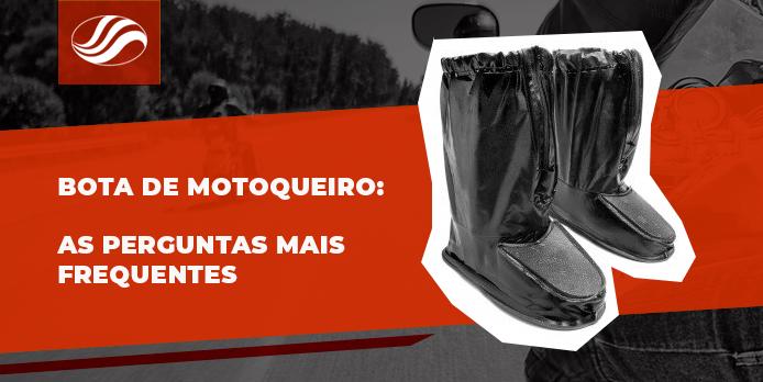 bota de motoqueiro