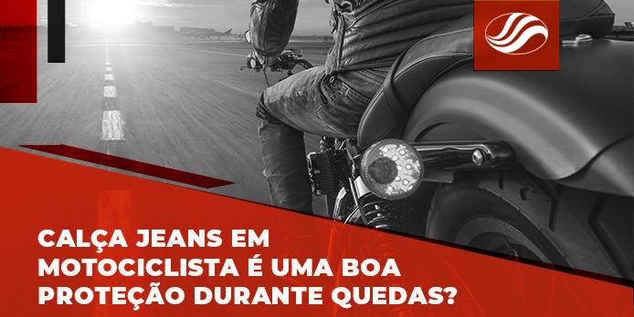 calça jeans motociclista, Calça jeans em motociclista é uma boa proteção durante quedas?, Alba Moto