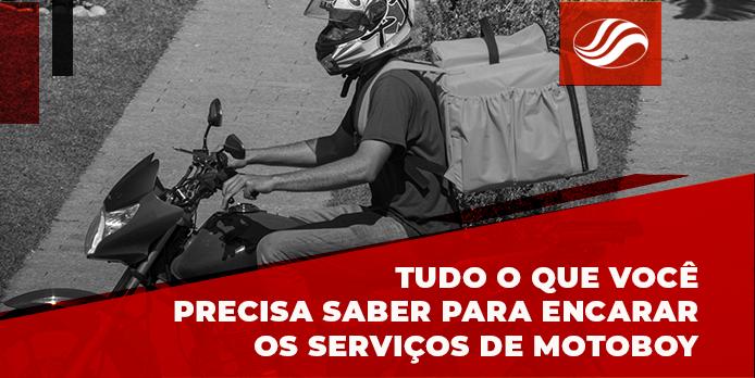 serviços de motoboy, Tudo o que você precisa saber para executar os serviços de motoboy, Alba Moto