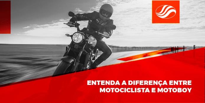 Diferença entre motoboy e motociclista