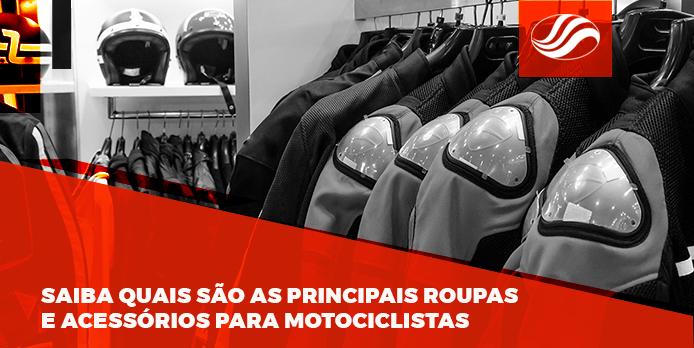 roupas e acessórios para motociclistas