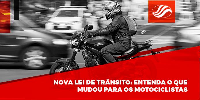 Nova lei de trânsito para motociclistas