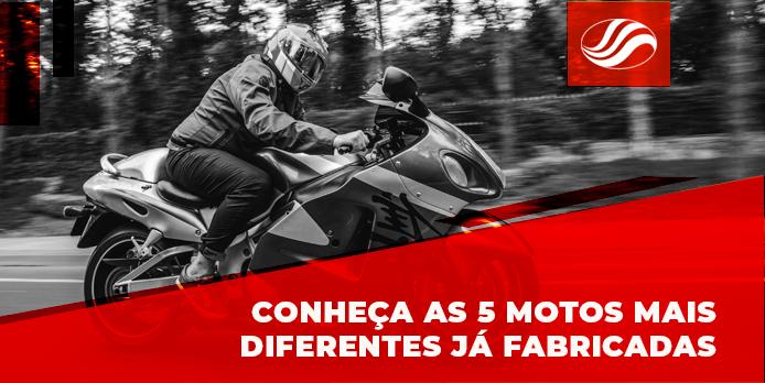 motos mais diferentes